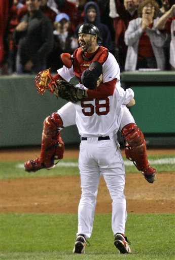 Jason Varitek and Jonathan Papelbon.jpg